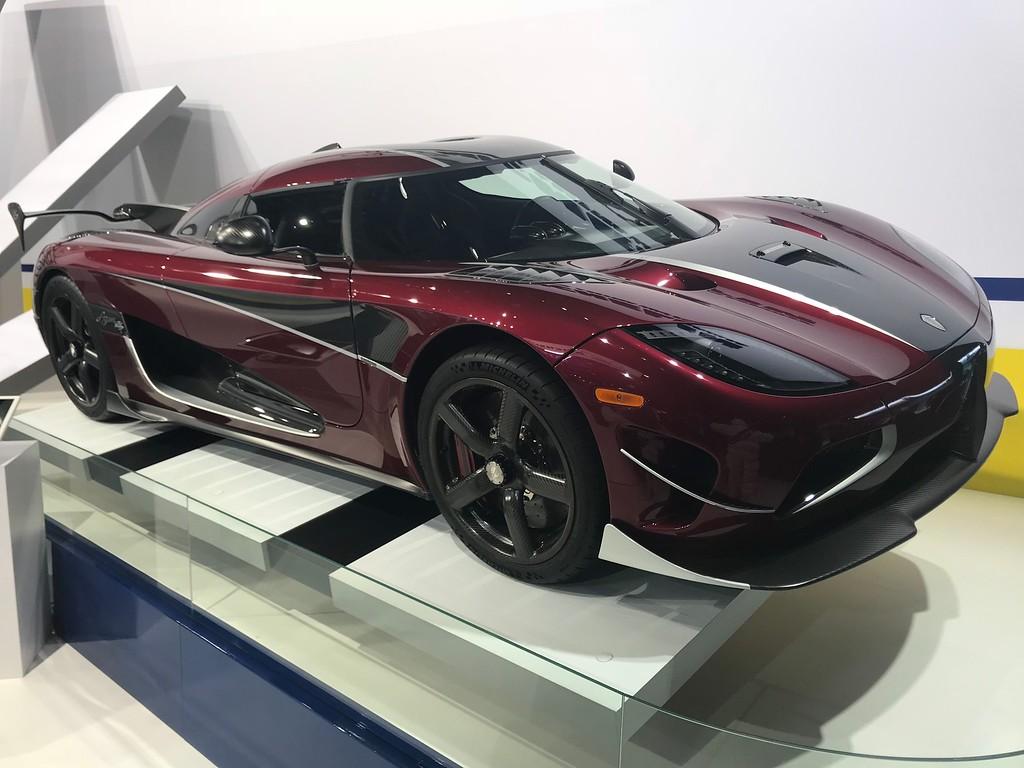 . Koenigsegg, 1360 horsepower, 284 MPH