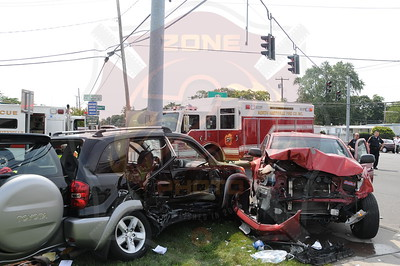 North Amitville Fire Co. Fatal MVA w/ Medevac Route 110 and Harrison Ave. 9/2/12