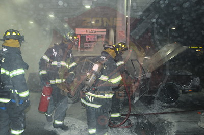 North Amityville Fire Co. Signal 14 Hess Gas Station 1285 Sunrise Hwy. 4/4/14