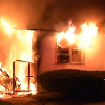 North Amityville House Fire- Paul Mazza
