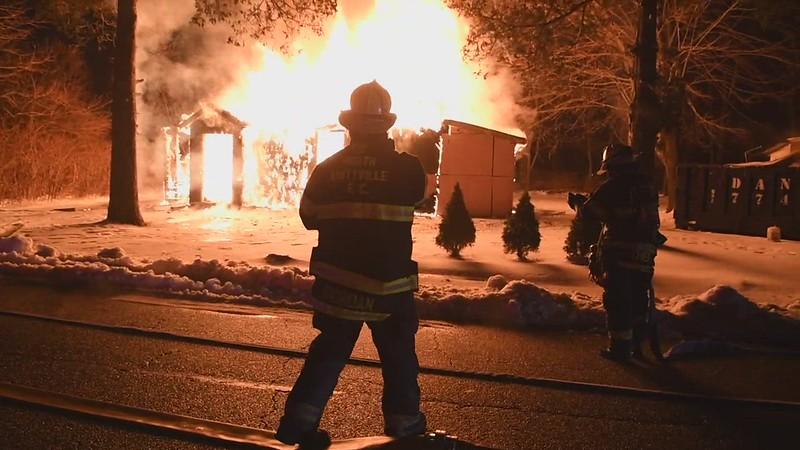 Noirth Amityville House Fire #2 - Paul Mazza