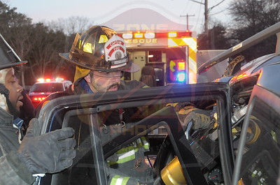 North Amityville Fire Co. MVA w/ Entrapment and Medevac  Cassata Dr. and New Highway 4/16/15