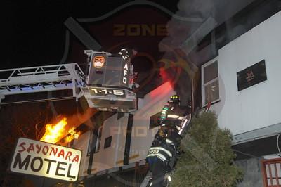 North Amityville Fire Company Fatal Signal 13 Sayonara Motel 831 Route 110 12/14/14