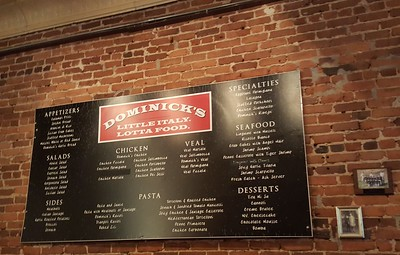 Dominicks Italian Restaurant