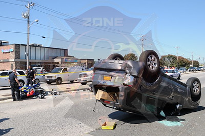 North Babylon Fire Co. MVA w/ Overturn Route 231 and August Rd. 9/19/13