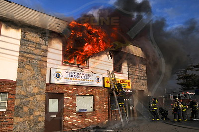 North Babylon Fire Co. Fatal Signal 13 1027 Little East Neck Rd. 3/3/13