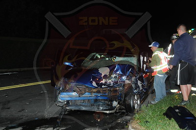 North Babylon Fire Co. MVA w/ Entrapment  Phelps Ln. and Denise Dr.  10/8/13