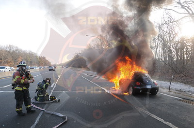 North Babylon Fire Co.Signal 14 Eastbound S.S. Pkwy. at Exit 36 Straigth Path 2/26/13