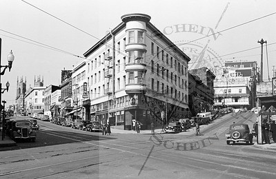 Columbus and Kearny , View North into Northbeach