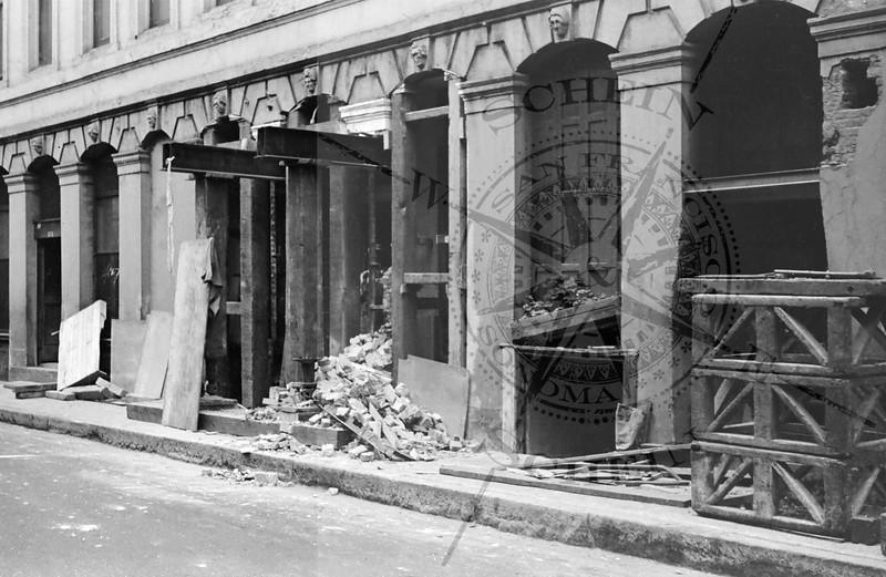 Montgomery Block repairs