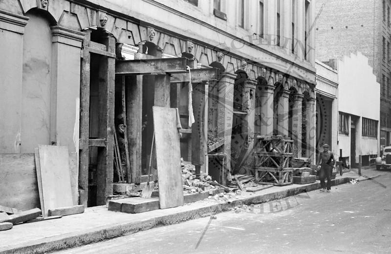 More Montgomery Block repairs