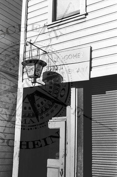 Izzy Gomez 848 Pacific Ave Golden Anniversary Signage