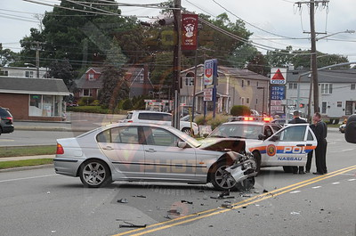North Bellmore F.D. MVA w/ Entrapment Jerusalem Ave. and Bellmore Ave. 8/30/14