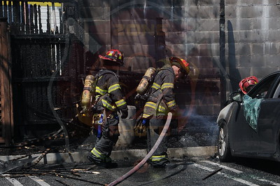 North Bellmore F.D. Multiple Car Fires T/R/O 542 Bellmore Rd. 5/3/14