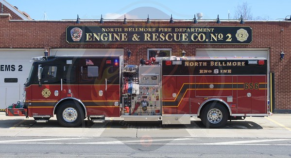 North Bellmore F.D. New Rescue/Engine 656   4/8/18