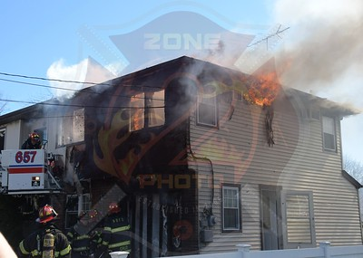 North Bellmore F.D. Signal 10  Frisch Place 3/15/20