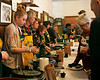 HOLLY PELCZYNSKI - BENNINGTON BANNER Members of the Norshaft Lions Club serve up over 25 selections of hot and delicious chili to event goers on Saturday during the annual Chili cook off.