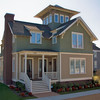 The Belva Plan by Allison Ramsey Architects built at East Beach in Norfolk, Virginia. This plan is 1841 Heated Square Feet, 3 Bedrooms and 3 Bathrooms. North Carolina Collection, page 38, #NC0038.