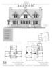 """This plan is 3,211 Heated Square Feet, 4 Bedrooms and 4 1/2 Bathrooms. The master bedroom is on the main floor. The plan dimensions are 55'-7"""" x 59'-0"""". NC0058"""