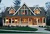 """The Hanesworth at The Ramble in Asheville, NC. This plan is 3,211 Heated Square Feet, 4 Bedrooms and 4 1/2 Bathrooms. The master bedroom is on the main floor. The plan dimensions are 55'-7"""" x 59'-0"""". NC0058"""