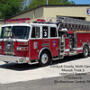 Moyock Volunteer Fire Department<br /> Currituck County, NC<br /> 1998/2007 Sutphen 1750/500/75'<br /> (Ex Rostraver Central, PA)<br /> Jerry Puryear photo