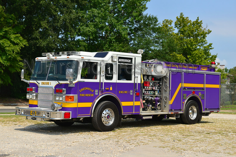 GREENVILLE, NC ENGINE 1