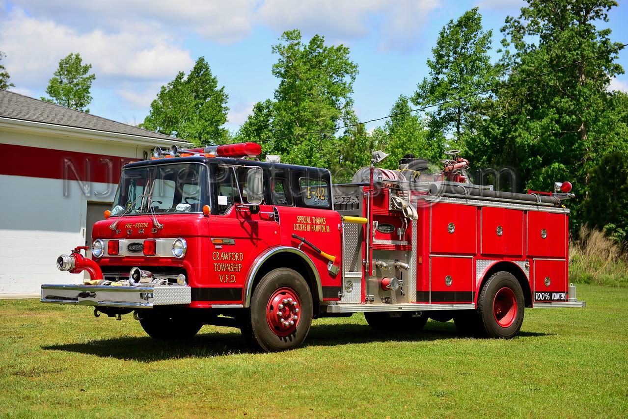 CRAWFORD TWP, NC ENGINE 42