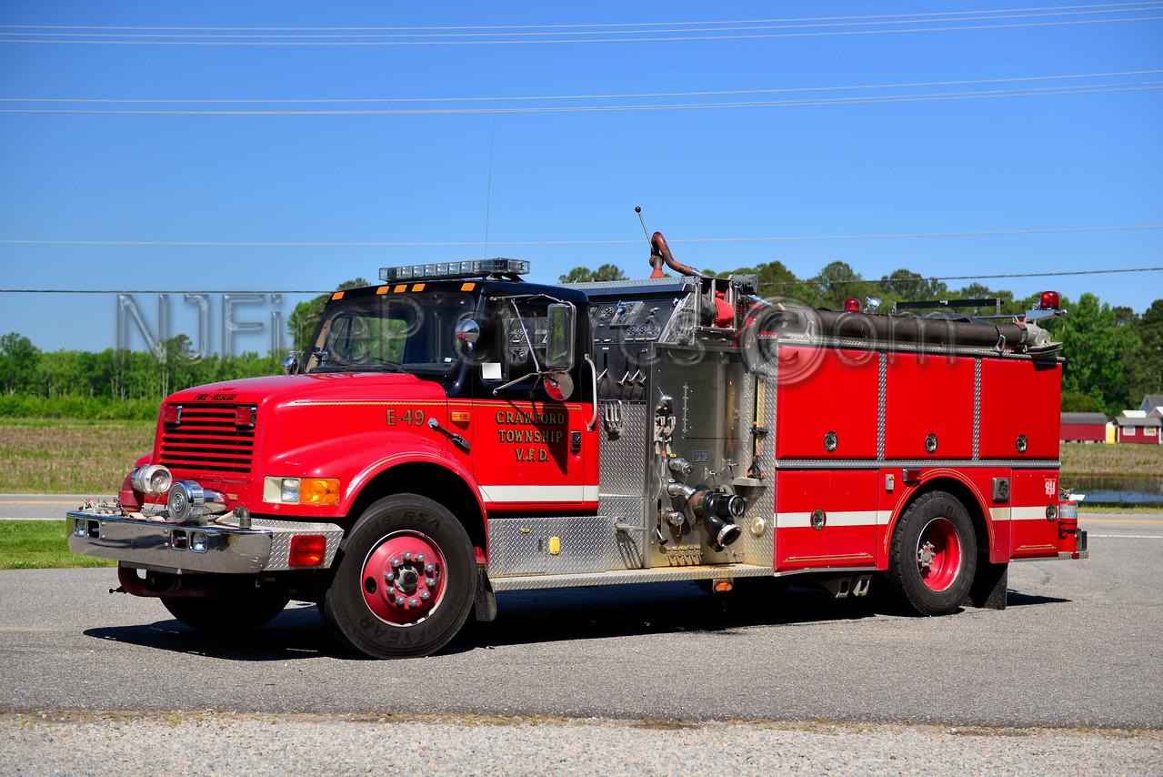 CRAWFORD TWP, NC ENGINE 49