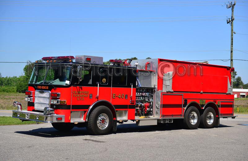CRAWFORD TWP, NC ENGINE 40