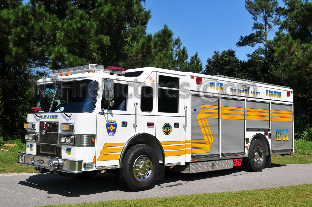 NEW HANOVER COUNTY, NC RESCUE 41