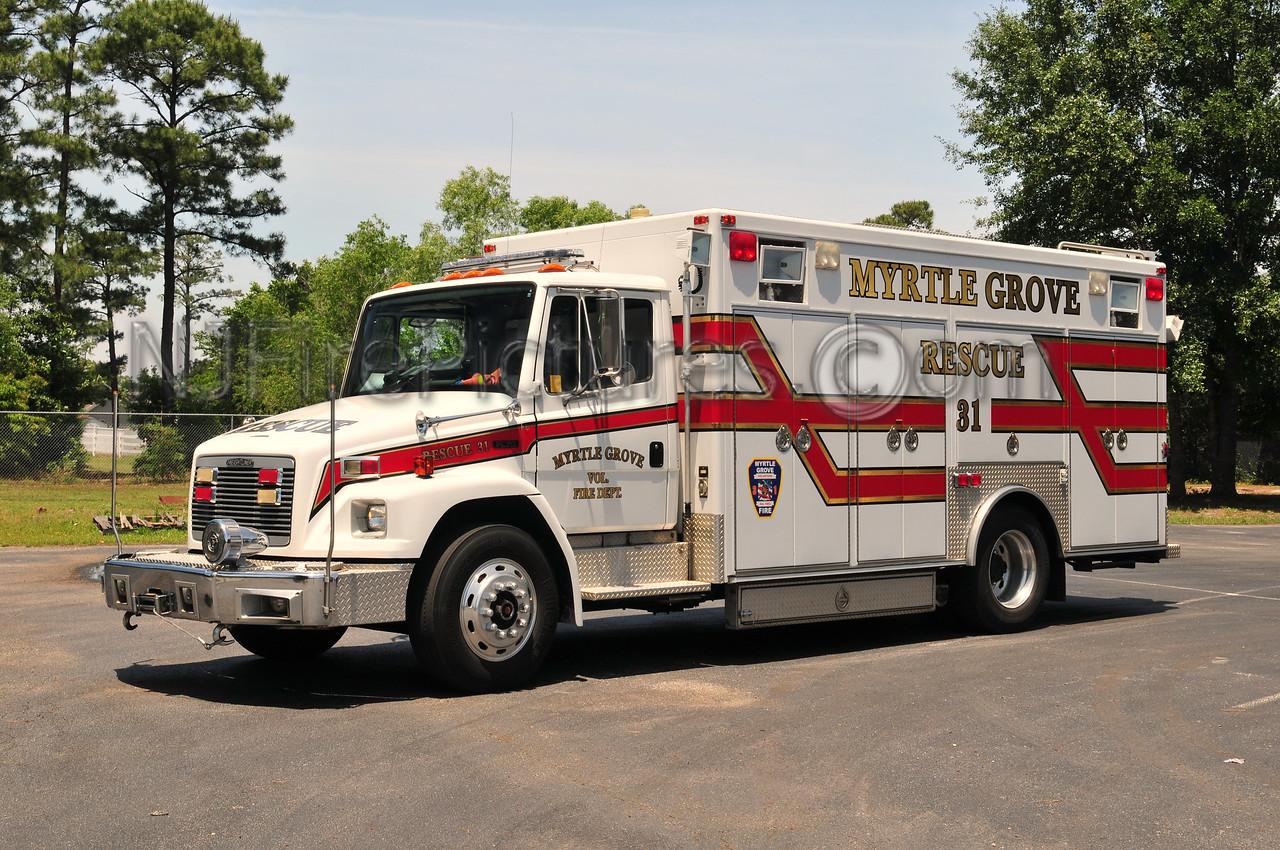 MYRTLE GROVE, NC RESCUE 31