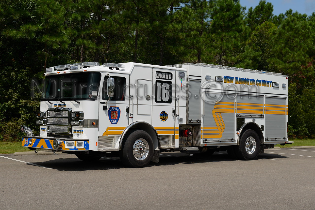 NEW HANOVER COUNTY, NC ENGINE 16 (OGDEN)