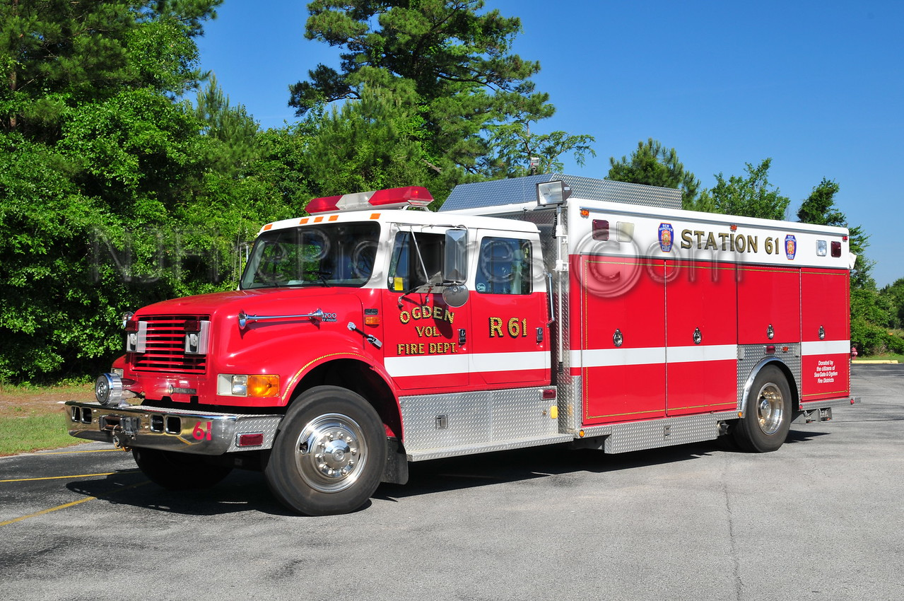 NEW HANOVER COUNTY, NC RESCUE 61