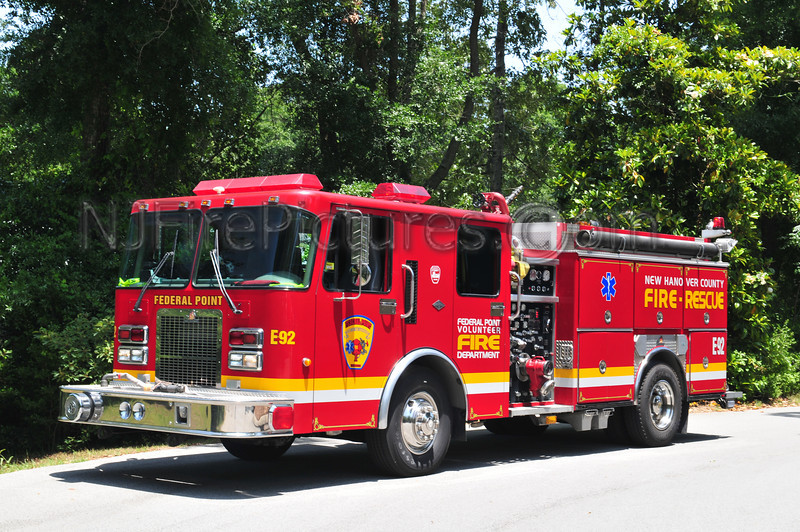 NEW HANOVER COUNTY, NC ENGINE 92