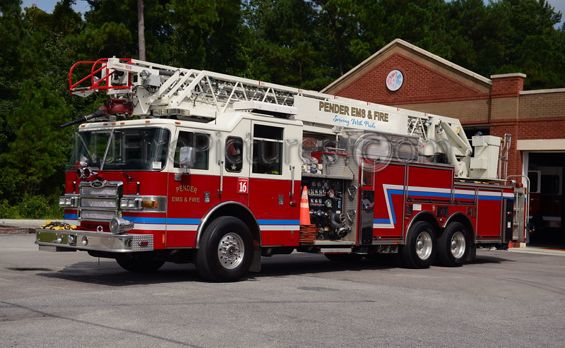 PENDER EMS & FIRE LADDER 16