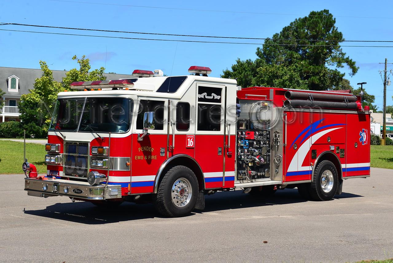 PENDER EMS & FIRE ENGINE 16 (HAMPSTEAD, NC)