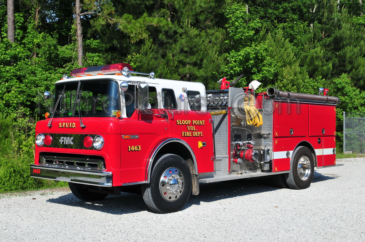 SLOOP POINT, NC ENGINE 1463