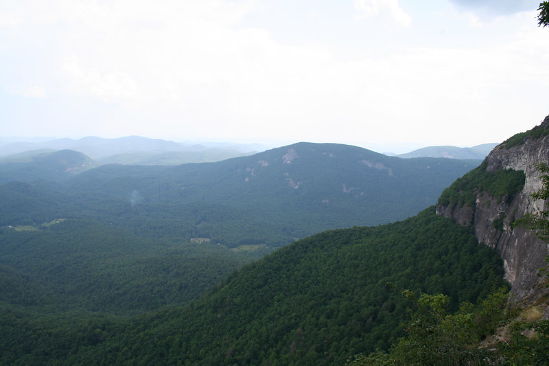 View from Whiteside Mountain