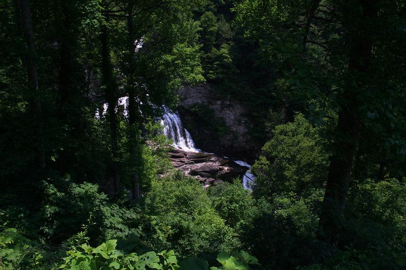 Cullusaja Falls; Macon Co, NC