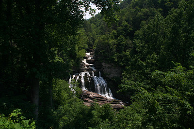 Cullusaja Falls; Macon Co, NC