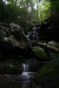 No-name Waterfall off of Forest Service Road 367; Macon Co, NC