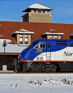 Salisbury,NC Southern Railway Passenger Station