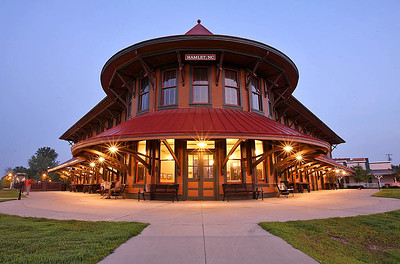 Hamlet,NC Seaboard Air Line Railway Passenger Station