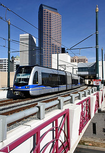 Lynx Light-Rail Uptown Charlotte,NC