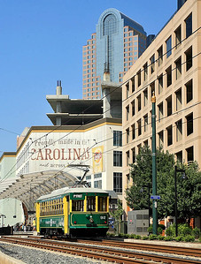 Charlotte Trolley Uptown Charlotte,NC