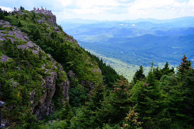 Grandfather Mountain Hikers