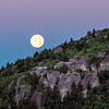 Blue Moon over Grandfather Mountain
