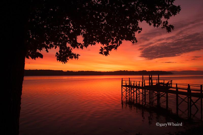 Fiery Lake