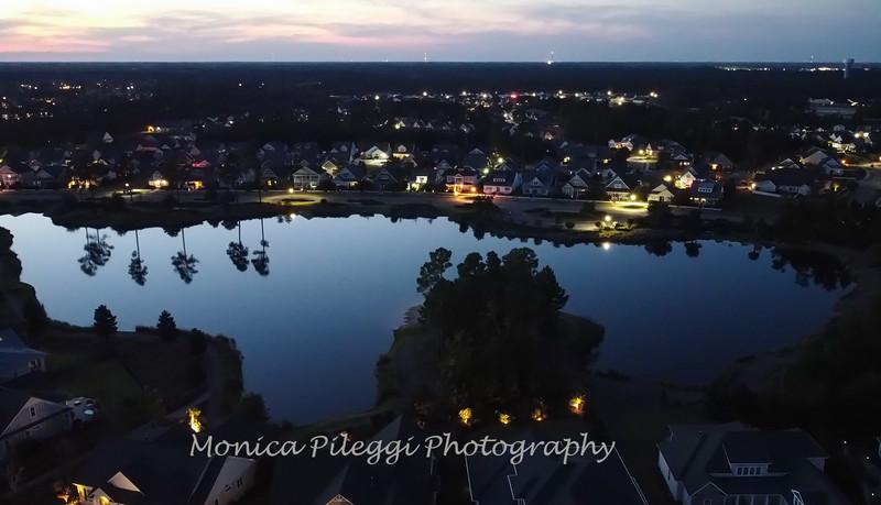 Hammock Lake; Drone shot; 2 October 2021