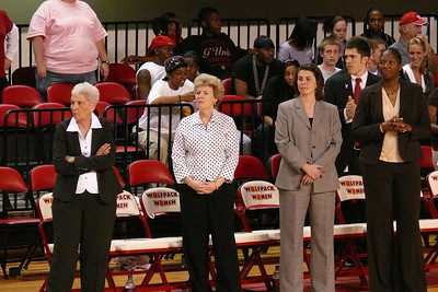Coaches row - Yow, Glance, Palmateer, Trice-Hill